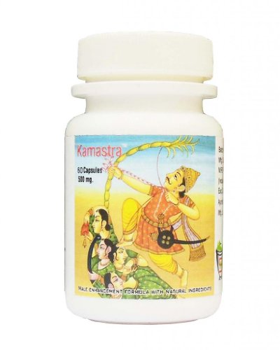 Shivalik Kamastra Herbal Medicine for Longer Thicker Penis, Harder Erection, sexual health - 60 Capsules