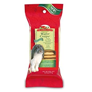 L/M Animal Farms SLM02351 Small Animal Wafer Crisps, 2-Ounce