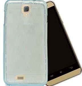 Karbonn Titanium S109 Case,Blue Soft ,Lightweight,Shock Absorbing Tpu Back Case Cover For Karbonn Titanium S109