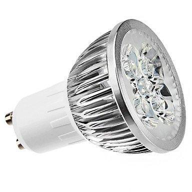 Dimmable Gu10 4W Cob 6000K Cool White Light Led Spot Light (Ac200-260V)