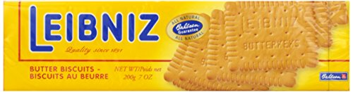 Bahlsen Butter Biscuits, Leibniz, 7 oz