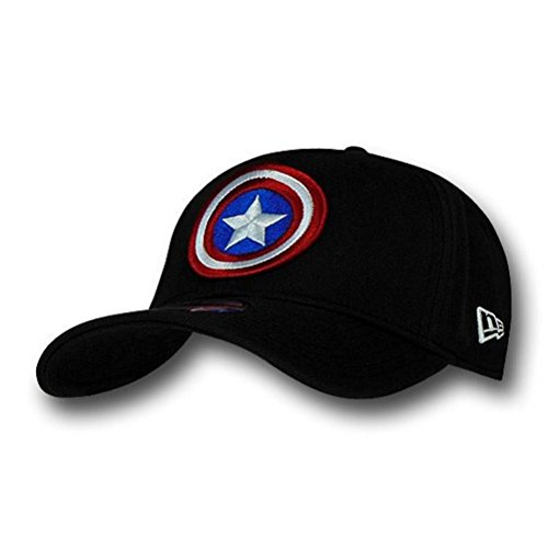 Captain America Shield Black 39Thirty Cap