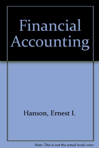 Financial Accounting: An Introduction (The Dryden Press series in accounting)