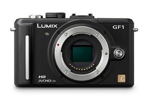 Panasonic Lumix DMC-GF1 Systemkamera (12 Megapixel, 7,6 cm Display, HD-Video, LiveView) Gehäuse mattschwarz