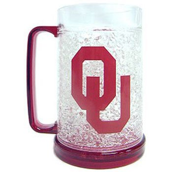 Oklahoma Sooners Crystal Freezer Mug