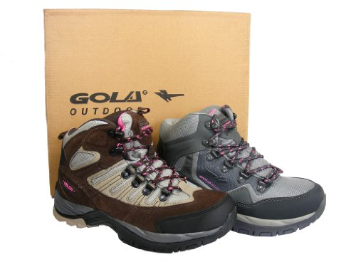 Ladies Womens Trail Walking Ankle Boot Shoes Mountaineering Boots Size 4 5 6 7 8