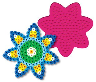 Daisy Pegboard for Perler Fuse Beads