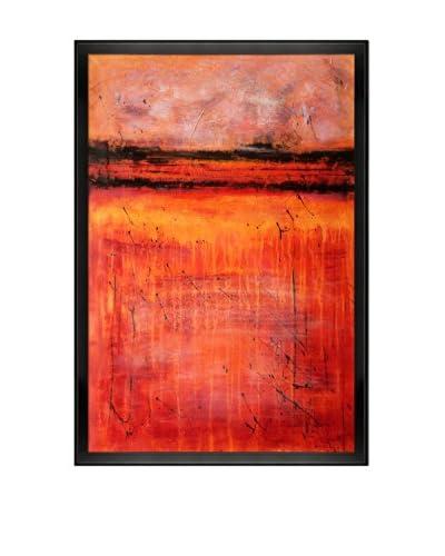 Lisa Carney Inside The Volcano Oil Painting