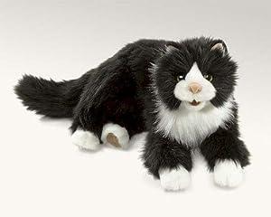 Tuxedo Cat from Folkmanis