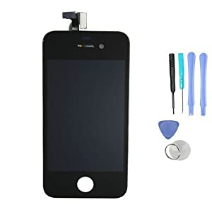 Replacement Digitizer and Touch Screen LCD Assembly for Black Apple iPhone 4 (Fits CDMA Verizon/Sprint iPhone 4 only)