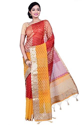 Indian Saree Bollywood Party Ethnic Wedding Bridal Sari Designer Pakistani-CNRY