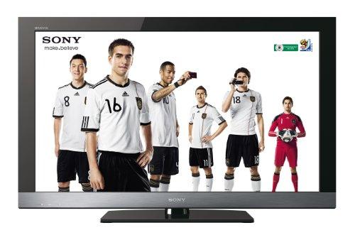 Téléviseur LCD KDL-32EX505  ''Full HD'', 32 pouces (82 cm) 16/9, 100Hz, TNT HD, HDMI x4, USB 2.0, W...