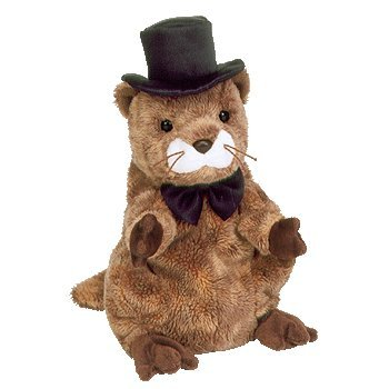 Punxsutawney Phil 2004 Ty Beanie Baby - Groundhog Day back-1021780