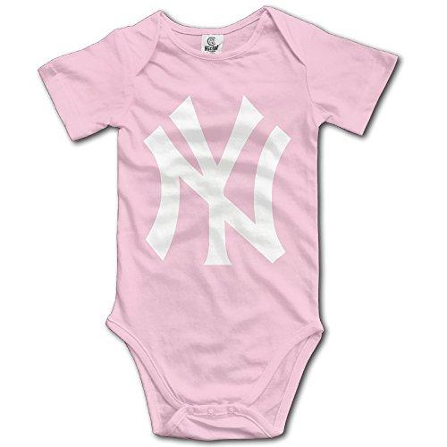 [NINJOE Toddler Yankees NY Logo Short Sleeve RomperPlaysuit 6 M Pink] (Lady Gaga Costumes Ahs)