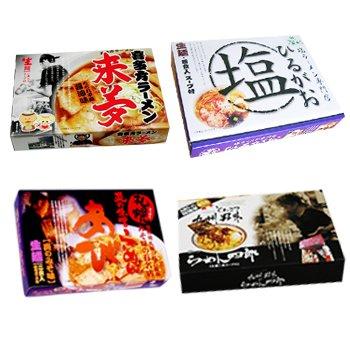 ご当地ラーメンセット 全国銘店ラーメン 4種類8食GR23 (ギフト箱入)