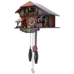 Kassel Cuckoo Clock With Multiple Moving Figures