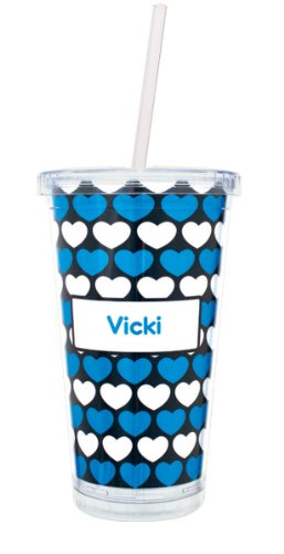 Custom Tumblers With Straw front-1042073