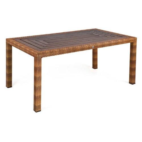 MBM 68.00.0339 Tisch Bellini 90 x 160 cm, tobacco, Resystaplatte siam jetzt kaufen
