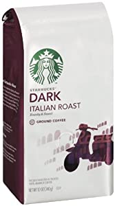 Starbucks Italian Roast Coffee (Extra Bold), Ground Coffee, 12 Ounce