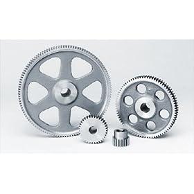 "Steel Spur Gear 20P 20 Degree Pressure Angle 25T x 0.500"" Bore x 1.300"" Pitch Dia"