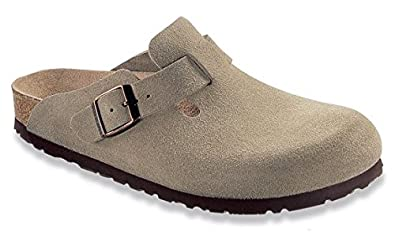 birkenstock boston nubukleder anthrazit