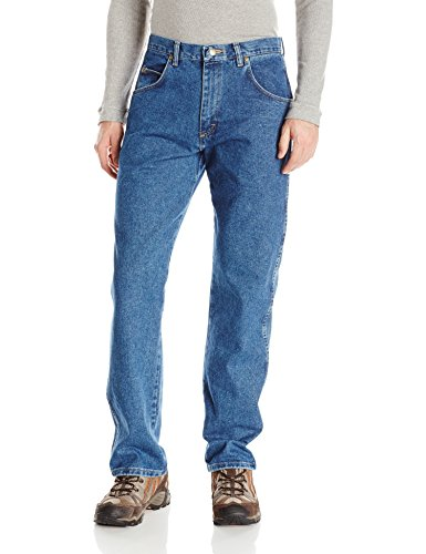 Wrangler Mens Rugged Wear Relaxed Fit Jean Antique Indigo32x30