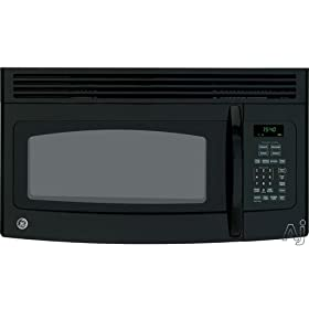 GE Profile Spacemaker Series JVM1540DPBB 1.5 cu. ft. Over-the-Range Microwave Oven - Black