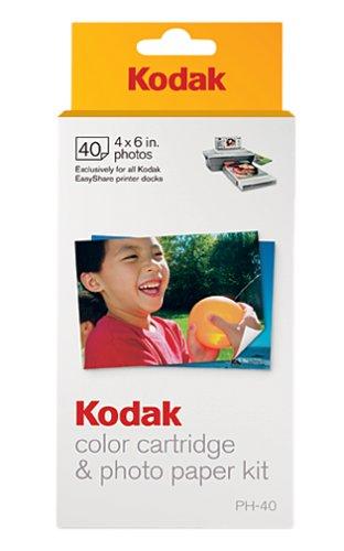 Store Of Sale Kodak PH40 Color Cartridge Amp Photo Paper Kit For Kodak EasyShare Printer Docks