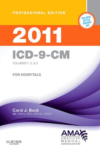 ICD-9-CM 2011 for Hospitals: Volumes 1, 2 & 3 (AMA ICD-9-CM for Hospitals (Professional Compact))