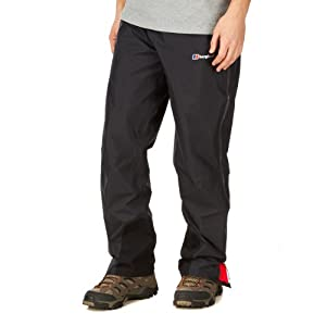 Berghaus Men's Helvellyn Gore Tex Shell Over Trousers - Black, Large/Size 31