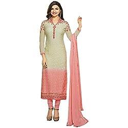 Radhika Multicoloured Brasso Dress Material
