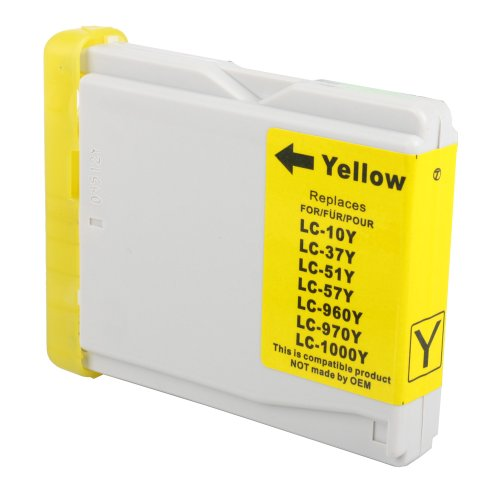 Brother LC51Y (LC51, LC 51) Compatible Yellow