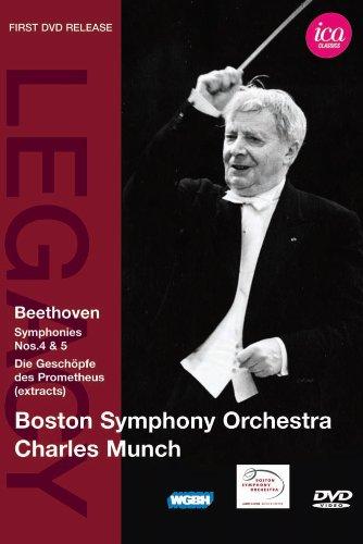 ベートーヴェン(1770-1827):「プロメテウスの創造物」より抜粋/交響曲 第4番/交響曲 第5番 [DVD]