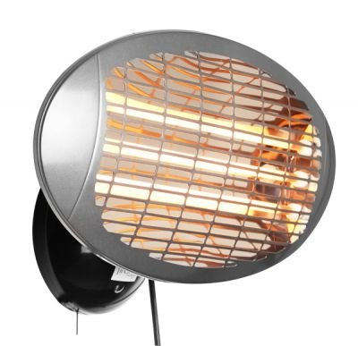 Firefly 2kW Wall Mounted Quartz Heater with 3 Power Settings