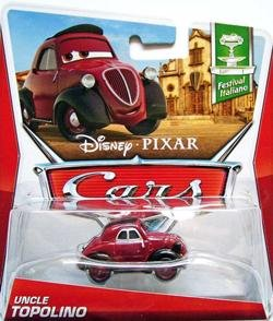 Disney Pixar Cars Festival Italiano Die-Cast Uncle Topolino #1/10 1:55 Scale - 1