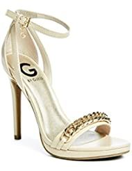 G By GUESS Women S Gifted Ankle-Strap Heels - B01DLHW0O2
