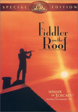 fiddler on the roof special edition dvd 1971