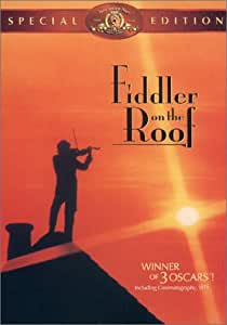 Amazon Com Fiddler On The Roof Special Edition Topol