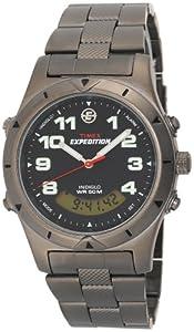 Buy Timex Mens T41101 Expedition Metal Field Analog-Digital Sandblasted Bracelet Watch by Timex