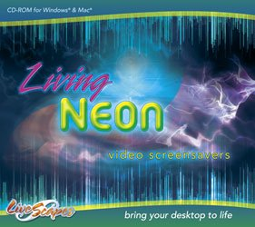 Living Neon Screensavers