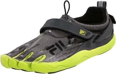 Fila Men's Skele-Toes 2.0 Shoe,Castlerock/Lime Punch/Black,8 M US