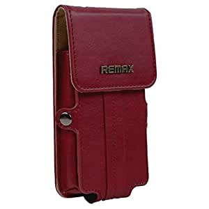Brain Freezer Remax Pedestrian Series Leather Pouch Holster Case For Acer Liquid E Ferrari Special Edition Red