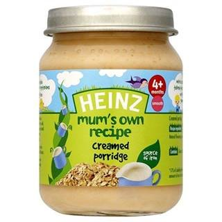 Heinz Mum's Own Recipe Creamed Porridge 4+ Mths 128G