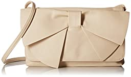 Aldo Superior Baguette Clutch, Bone, One Size