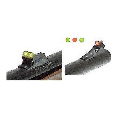 Truglo Rifle/Shotgun Sight Set - Rem, Red/Green