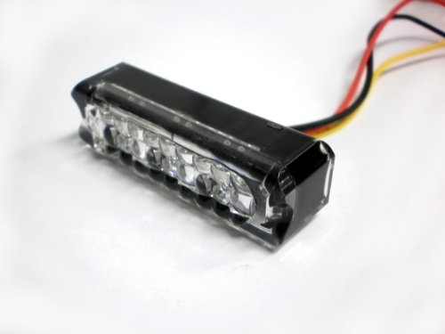 Tecniq E03-D003-1 Eon Led Red Stop Turn Tail Light