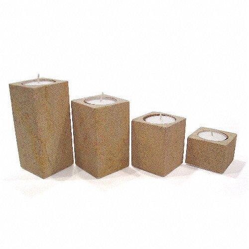 4tlg-set-kerzenstander-kerzenleuchter-teelichthalter-fur-teelichter-handgearbeitet-aus-sandstein