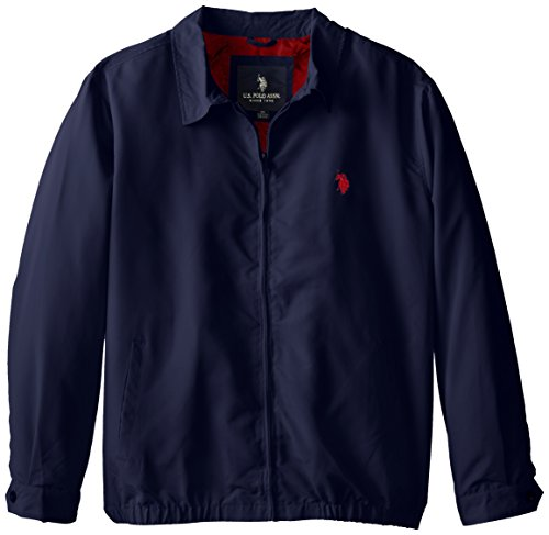 U s polo assn men 39 s big tall micro golf jacket classic for Mens big and tall golf shirts