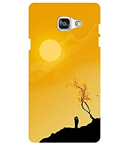 Chiraiyaa Designer Digital Printed Premium Back Cover Case for Samsung Galaxy J7 Prime (Scenery sun couple) (Multicolor)