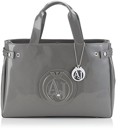 Armani Jeans Shoes & Bags De - 0529155, Acquirente da donna, grigio (grigio - grey 2t), 38x28x11 cm (B x H x T)